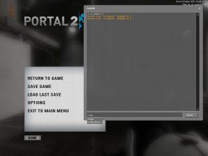 portal 2 consle