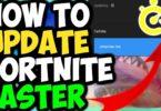 How to update Fortnite